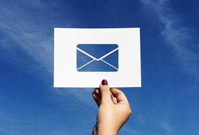 Emailing - ouvrir le courrier