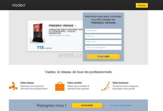 viadeo -Services réseaux